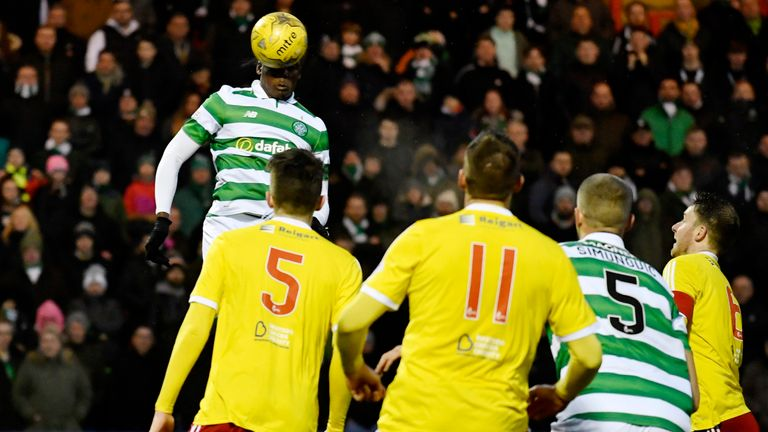 Dedryck Boyata produced a fine performance on his return to the Celtic team