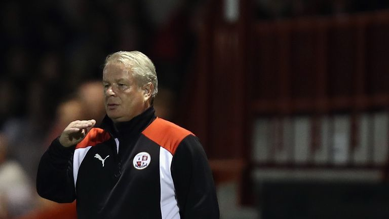Dermot Drummy has left Crawley Town after just 15 wins in more than a year in charge