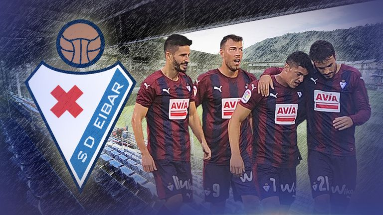 Eibar sit five points off La Liga's European places this season
