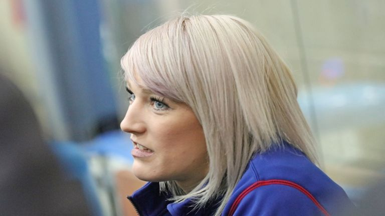 Elise Christie is targeting glory on the world stage in Holland