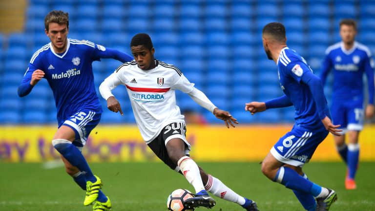 Ryan Sessegnon, born in 2000, impressed for Fulham and struck the winner against Cardiff