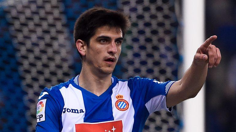 Espanyol forward Gerard Moreno had a goal ruled out against Levante