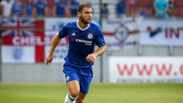 Branislav Ivanovic has left Chelsea after spending over eight years with the club