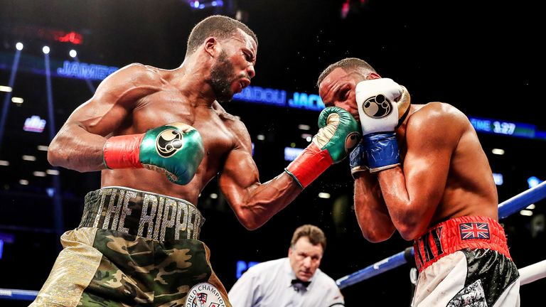 Badou Jack drew with James DeGale during their thrilling super-middleweight unification bout a year ago.