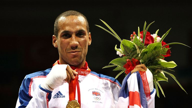 James DeGale made history by adding the IBF super-middleweight belt to his Beijing gold