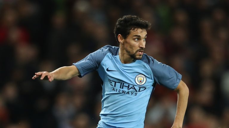 Jesus Navas is among Man City's released players