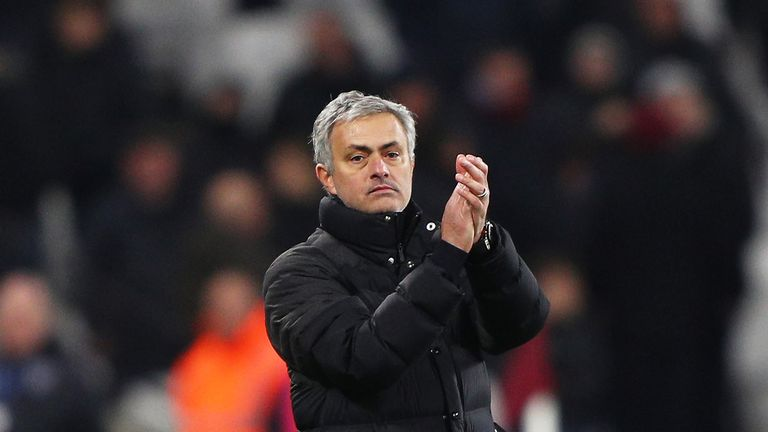 United boss Jose Mourinho says he will continue to rotate his squad