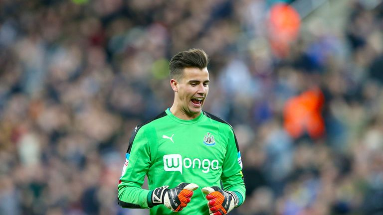 Karl Darlow has impressed at Newcastle this season