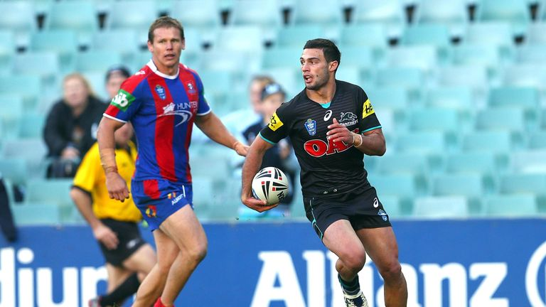 Kieren Moss in action for the Panthers