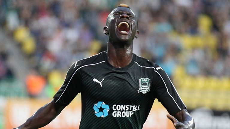 Krasnodar's Kouassi Eboue is closing in on a move to Glasgow