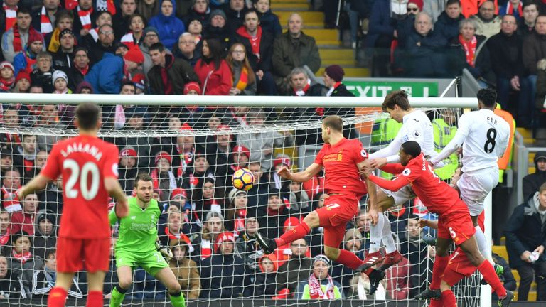 Liverpool lost ground in the title race with a 3-2 loss against Swansea on Saturday, while Man City, Man Utd and Tottenham also dropped points