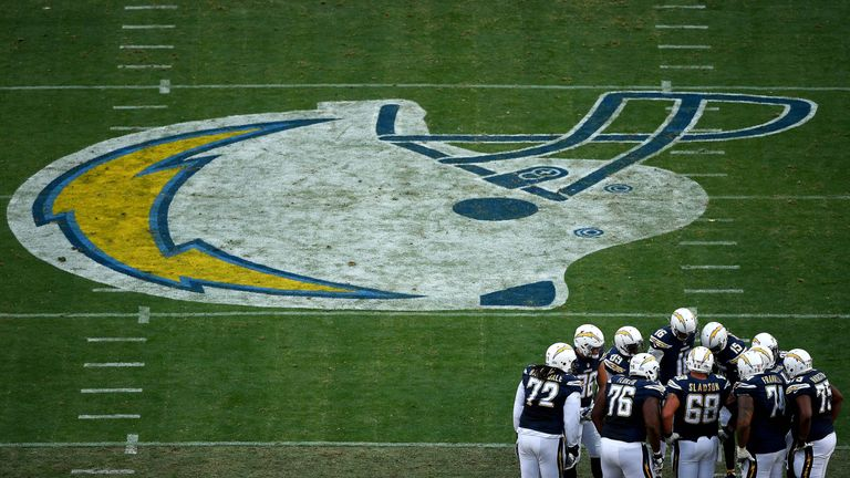 The San Diego Chargers