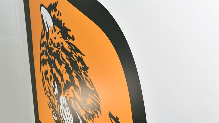 New Hull City manager Marco Silva during the press conference at the University of Hull Training Ground