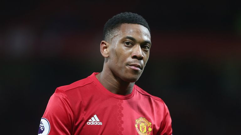 Anthony Martial made 18 Premier League starts for Man Utd last summer