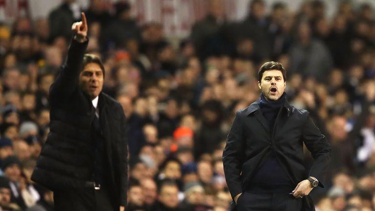 Mauricio Pochettino and Antonio Conte will meet in the FA Cup semi-finals