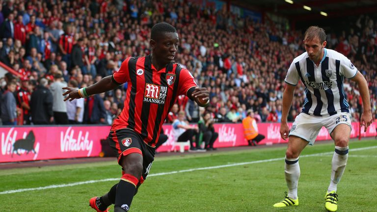 Bournemouth's Max Gradel had been linked with Watford