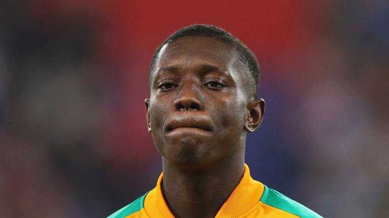 Gradel is part of the Ivory Coast squad at the Africa Cup of Nations