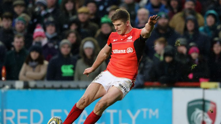 Farrell has become a key man for both England and Saracens