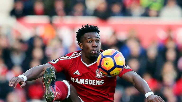 Chelsea are interested in signing Adama Traore from Middlesbrough