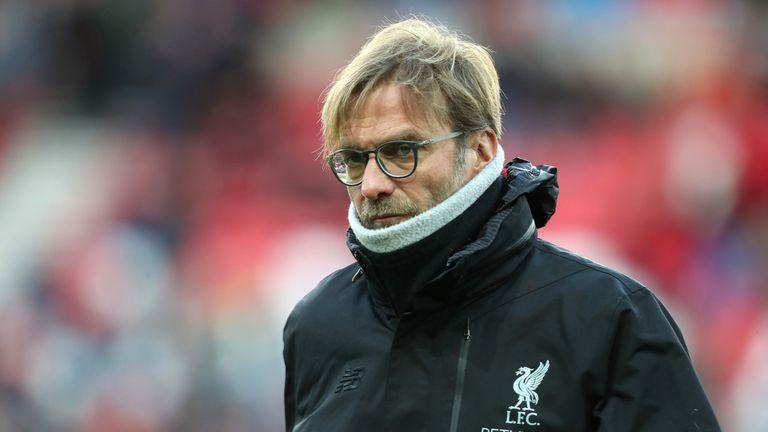 Jurgen Klopp prior to the Premier League match between Sunderland and Liverpool