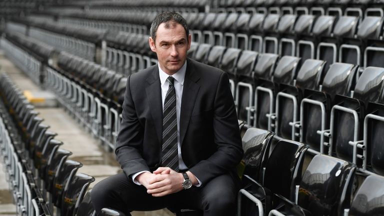 Paul Clement replaced Bradley as Swansea manager
