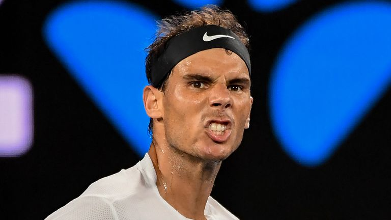 Rafael Nadal Excited To Play Roger Federer In Australian Open Final Tennis News Sky Sports