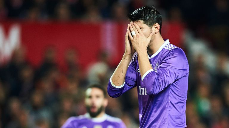 Real's hopes of surpassing Barcelona were on the verge of capitulating