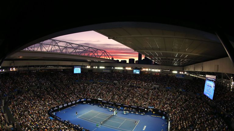Australian Open Order Of Play Tennis News Sky Sports