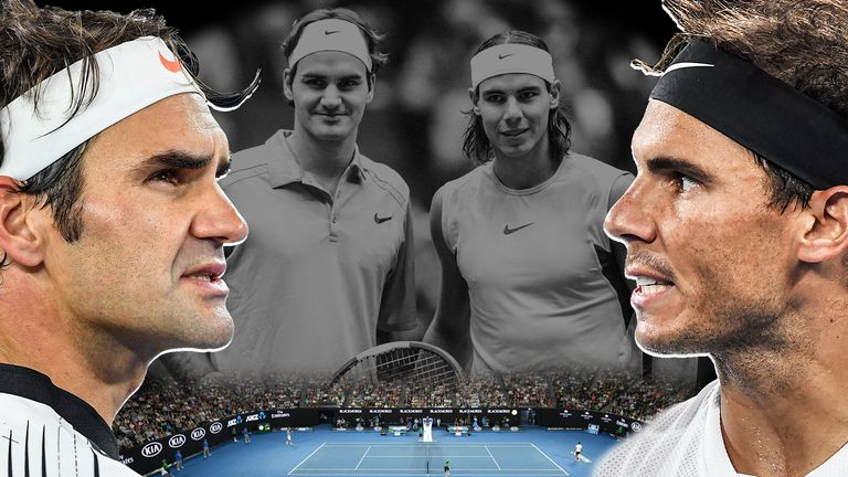 Roger Federer and Rafael Nadal will meet for the 39th time on Saturday