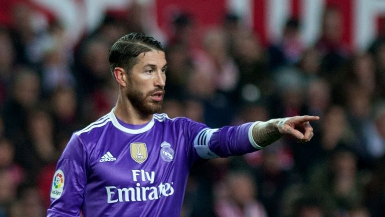 Sergio Ramos' performances have come under scrutiny