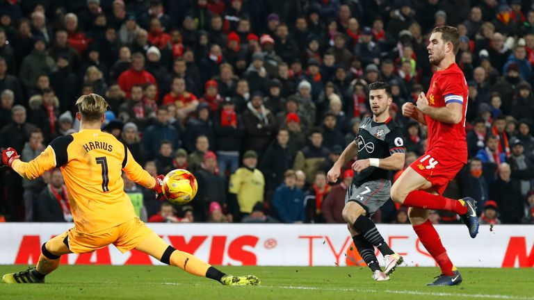 Southampton beat Liverpool in both legs of their League Cup semi-final this season