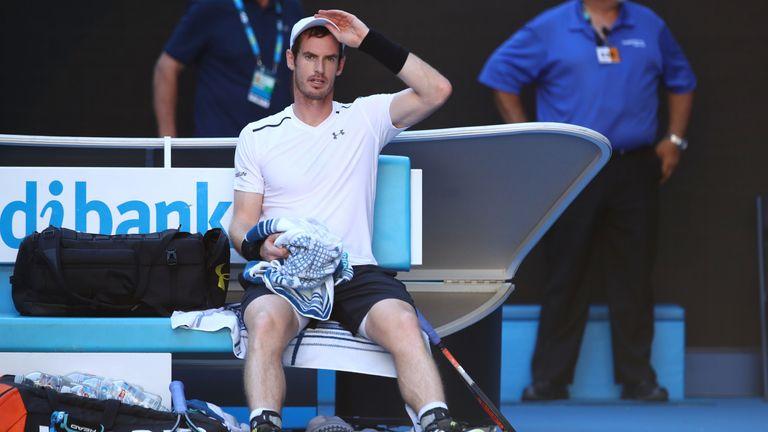 Murray was shocked by Mischa Zverev in Melbourne