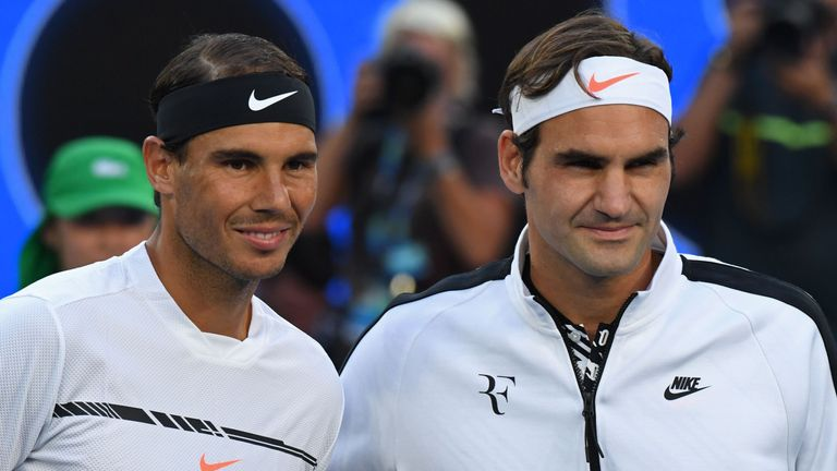 Rafael Nadal and Roger Federer played out the Australian Open final