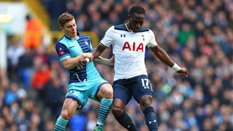 Sissoko is yet to score for Tottenham