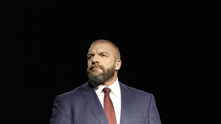 Triple H wants a regular weekly show in the UK