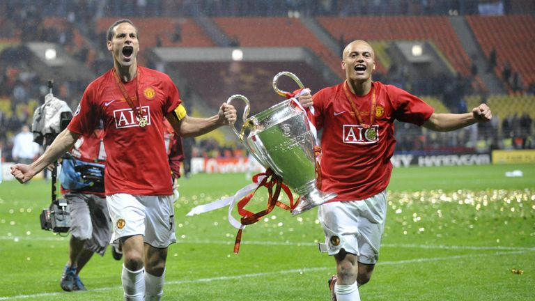 Wes Brown won the Champions League at Manchester United