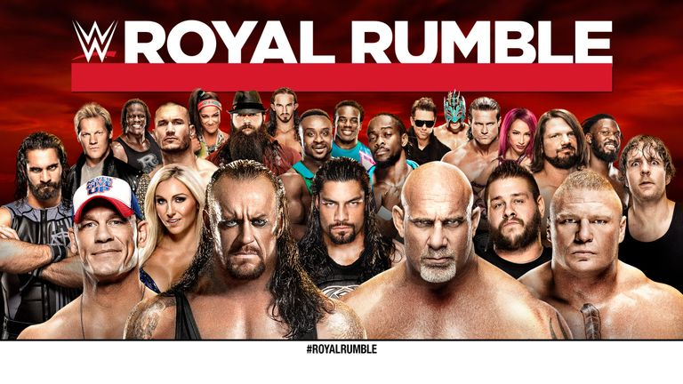 Who will win the 2017 Royal Rumble? Find out on Sky Sports Box Office