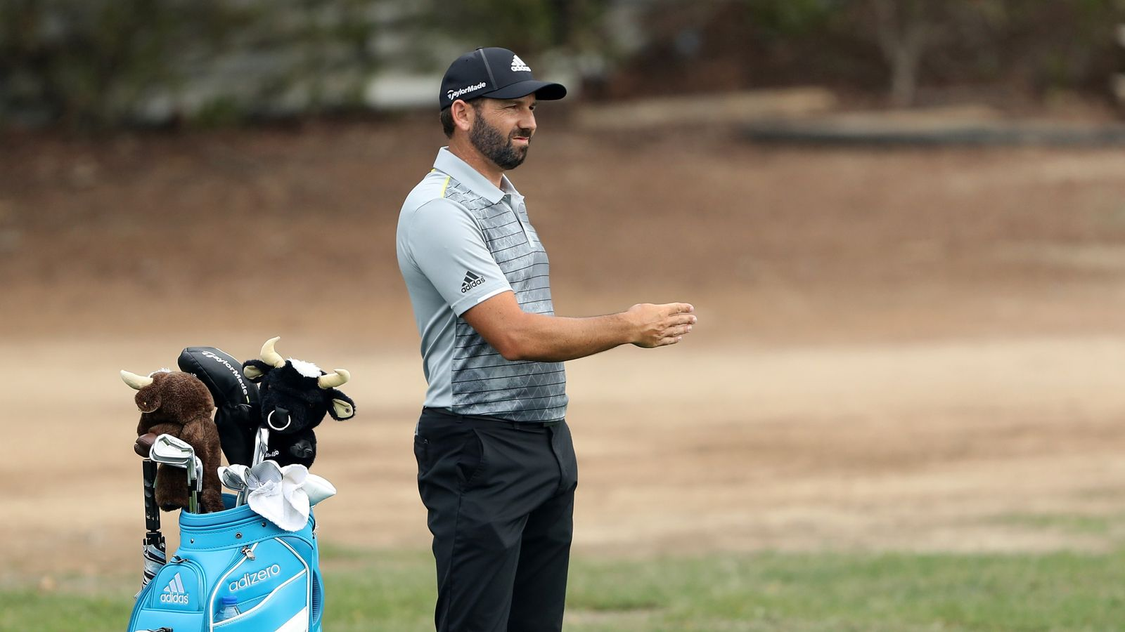 Sergio Garcia sets the pace as Tiger Wood struggles in ...