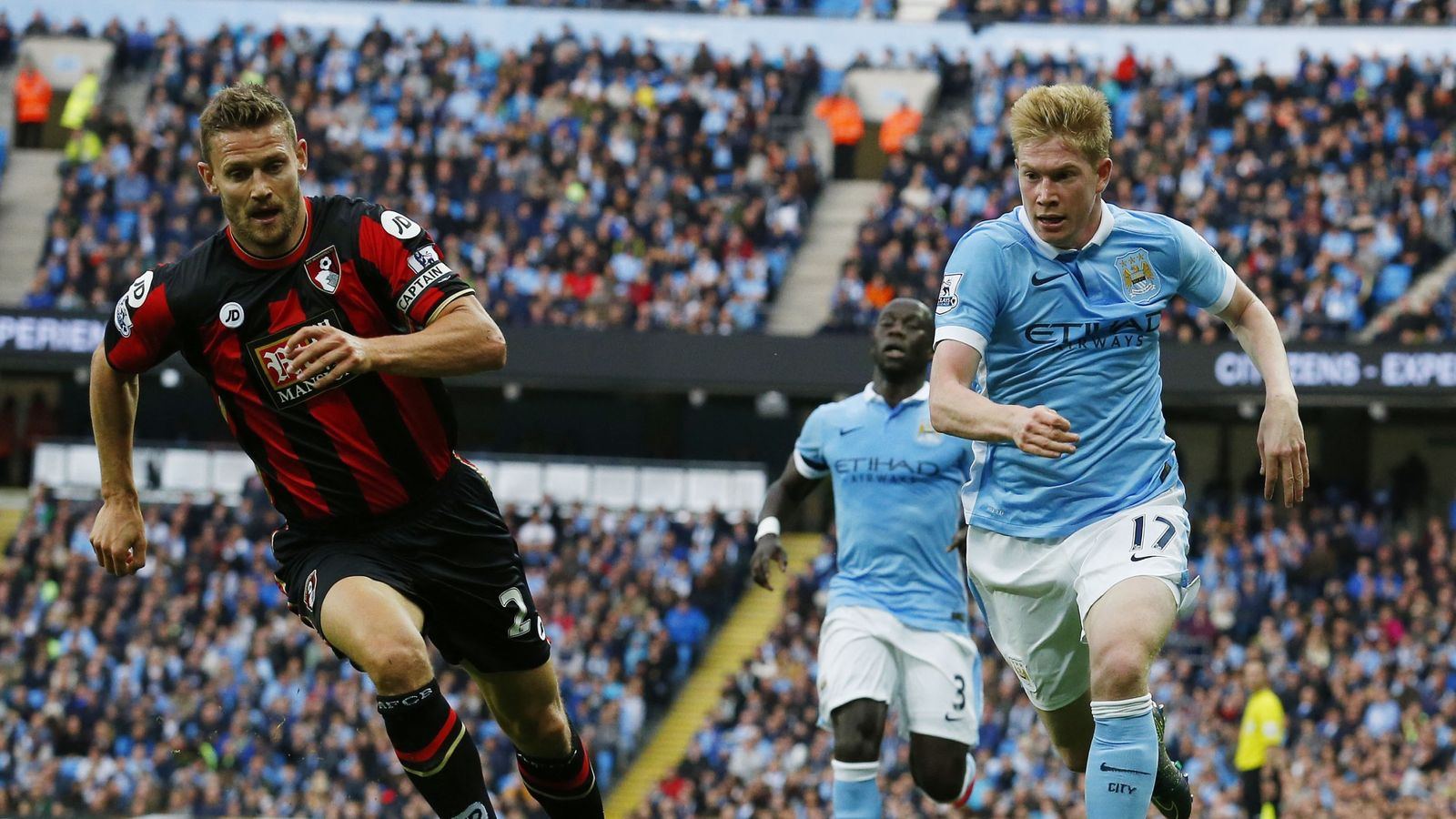 bournemouth vs man city - HD 1600×900