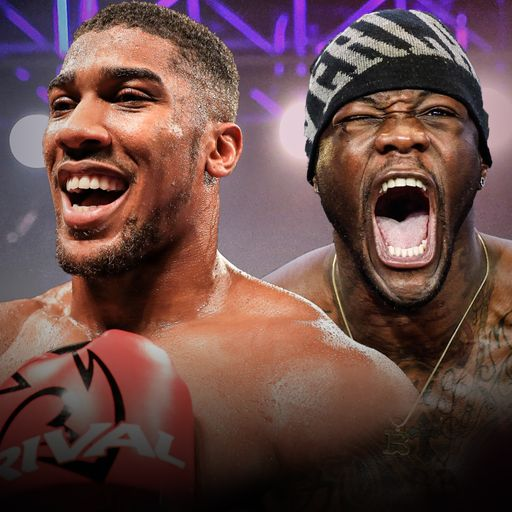 AJ-Wilder for all the belts