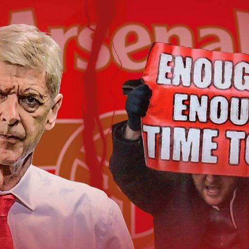 Arsenal's familiar dips