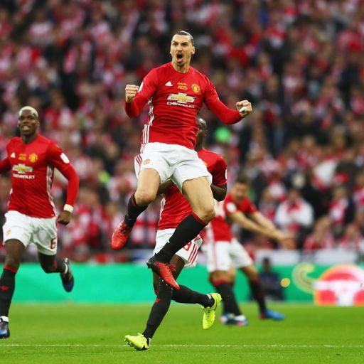Zlatan the hero in EFL Cup win