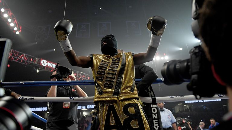 Broner made his usually under-stated entry to the ring