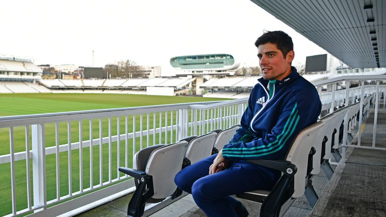 Alastair Cook is ready to begin the next stage of his England career