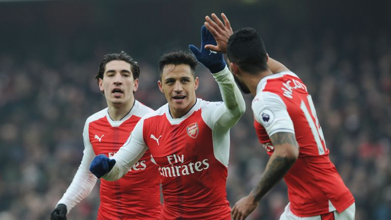 Arsenal are still some way off leaders Chelsea in the title race
