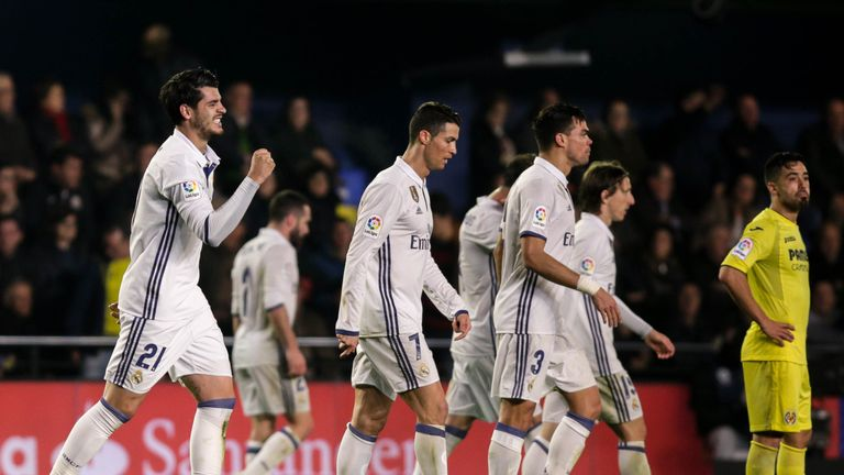 Morata has scored one goal every 89 minutes for Real this season