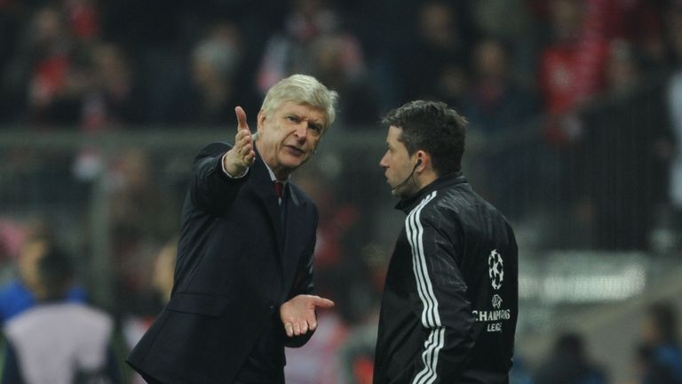 Wenger's future came under fire when Arsenal were beaten 5-1 in the Champions League by Bayern Munich last week