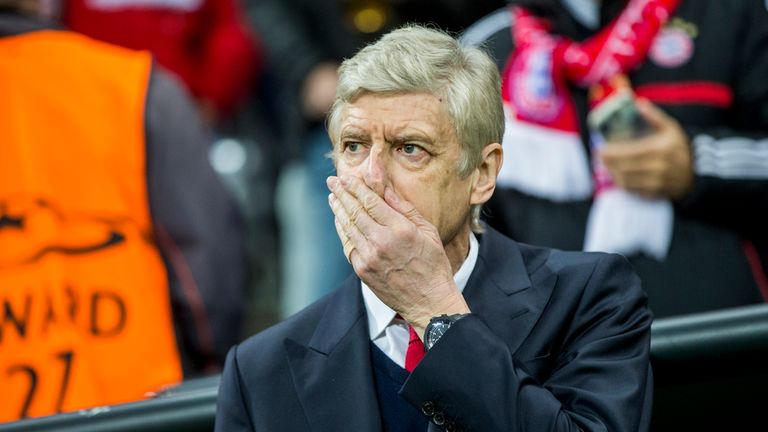 Arsene Wenger's side will take on Bayern in the return leg on March 7