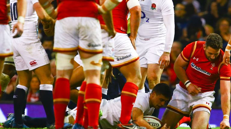 Ben Youngs scored an early try for England