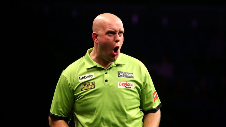 Michael van Gerwen won in Las Vegas
